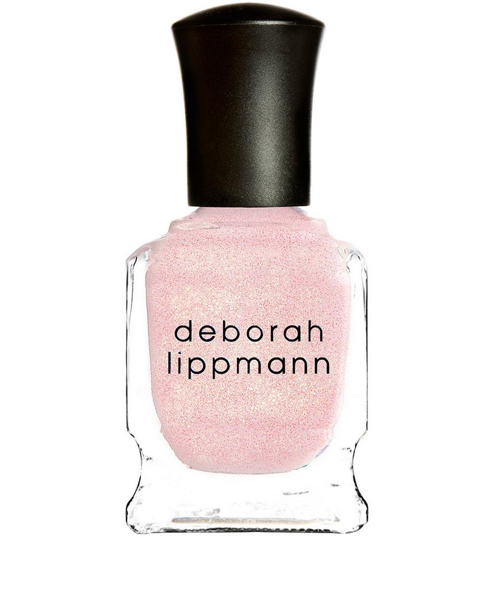 Nail Polish in La Vie En Rose Shimmer Pastel Petal Pink