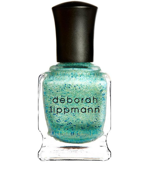 Nail Polish in Mermaid's Dream Glittered Shimmer Seafoam Splendour
