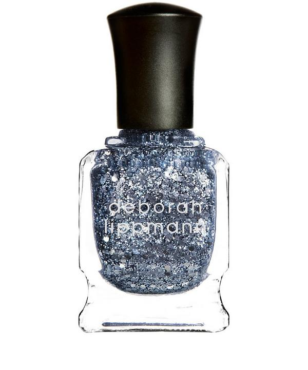 Nail Polish in Today was a Fairytale Glitter Silvery Blue Starlight