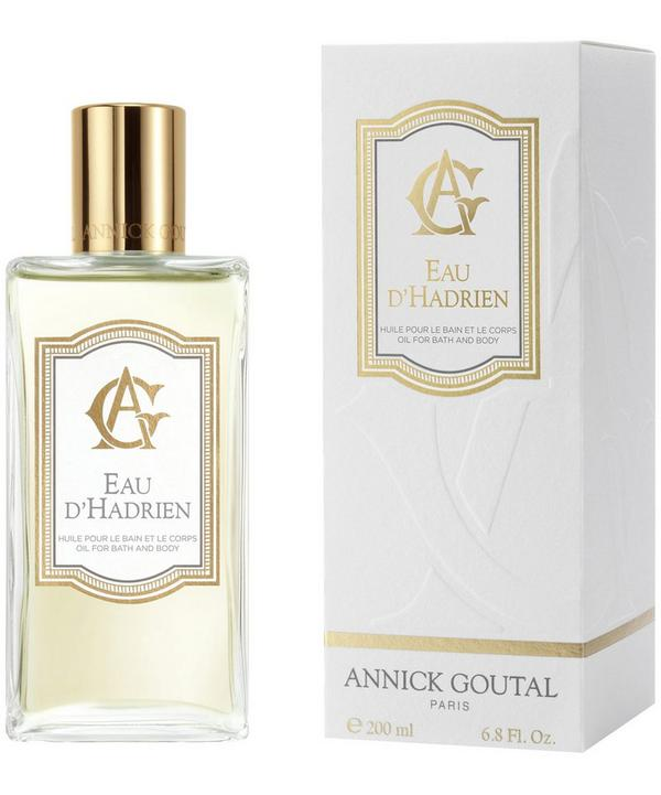 Eau d'Hadrien Bath and Body Oil 200ml