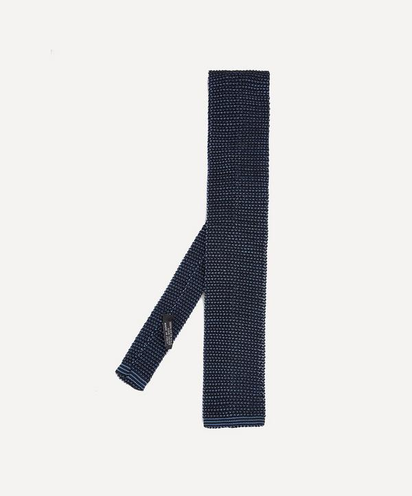 Phil Birdseye Knitted Silk Tie