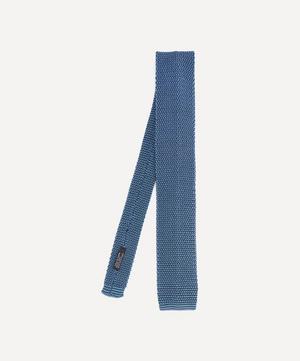 Phil Birdseye Knitted Silk Tie
