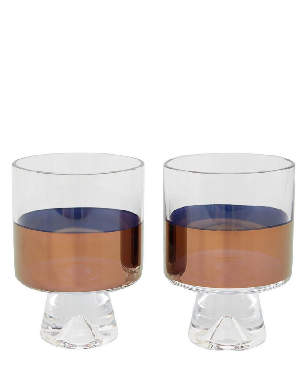 Copper Low Ball Glass Set