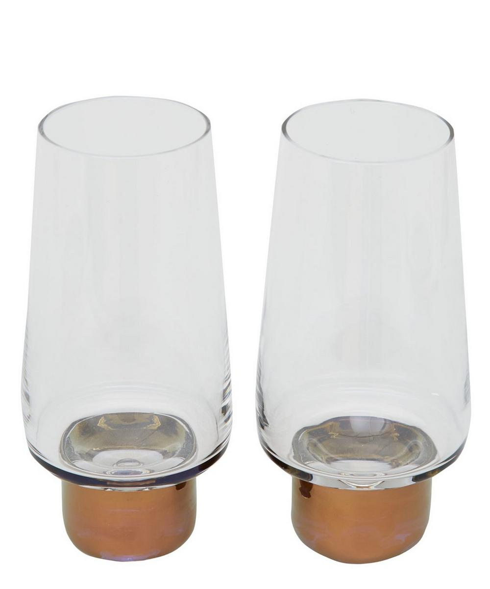 Copper Tank High Ball Glass Set