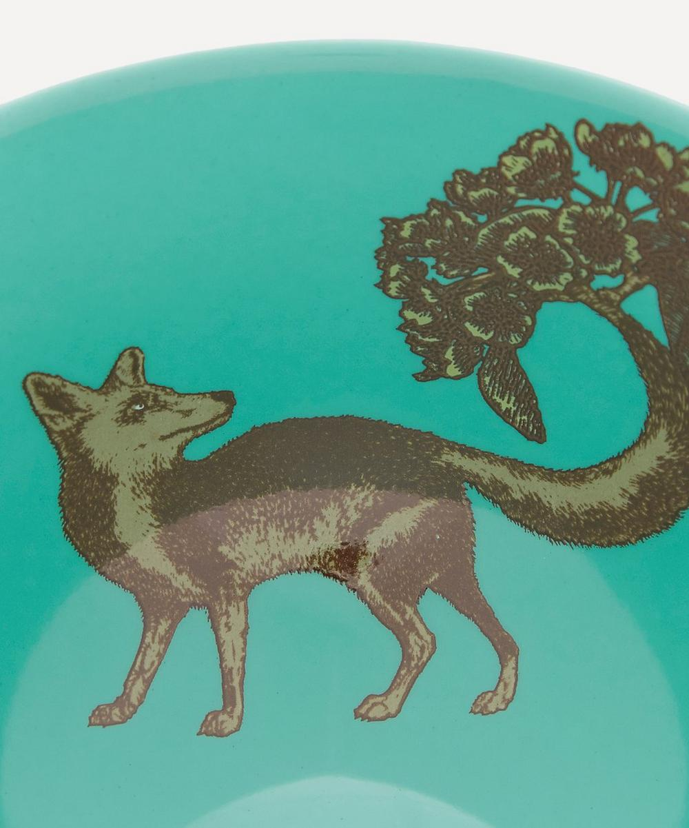 Fox Porcelain Bowl