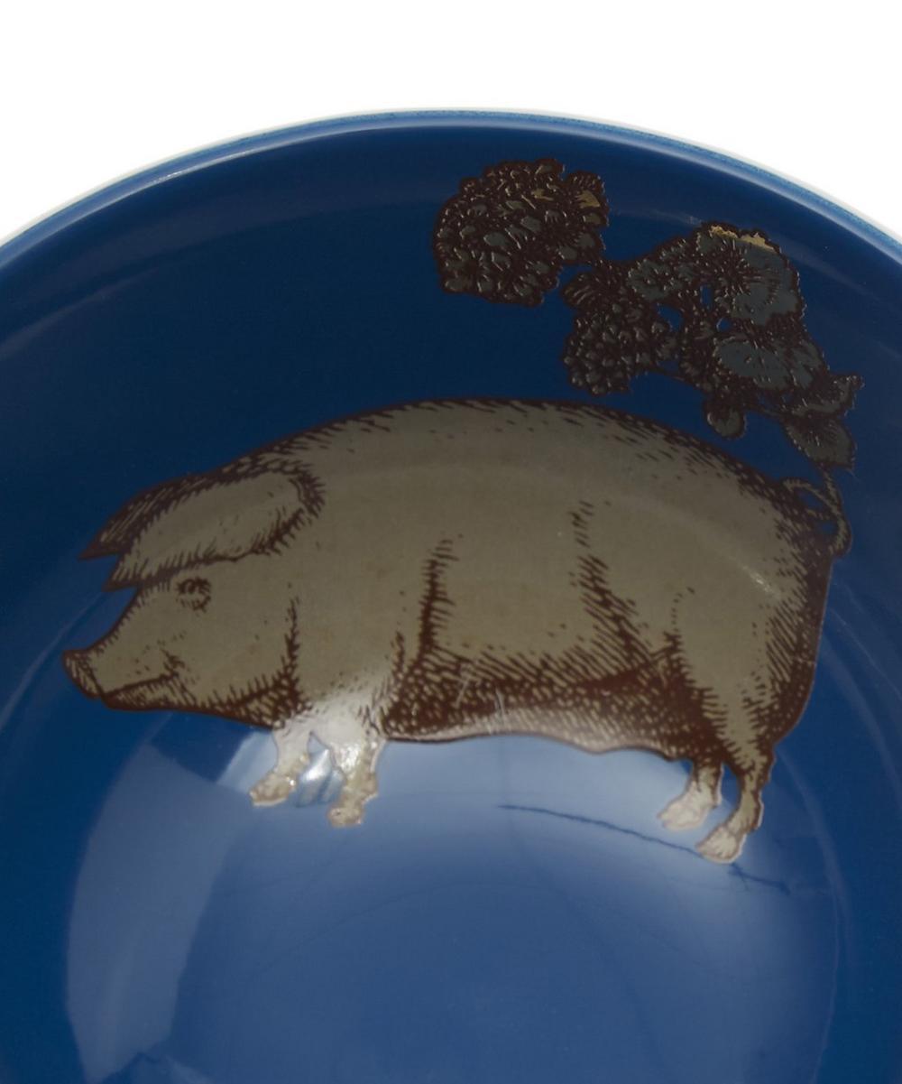 Puddin' Head Pig Porcelain Bowl