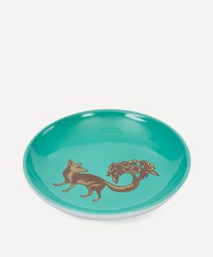 Puddin Head Fox Porcelain Plate