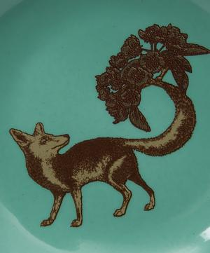 Puddin Head Fox Porcelain Plate