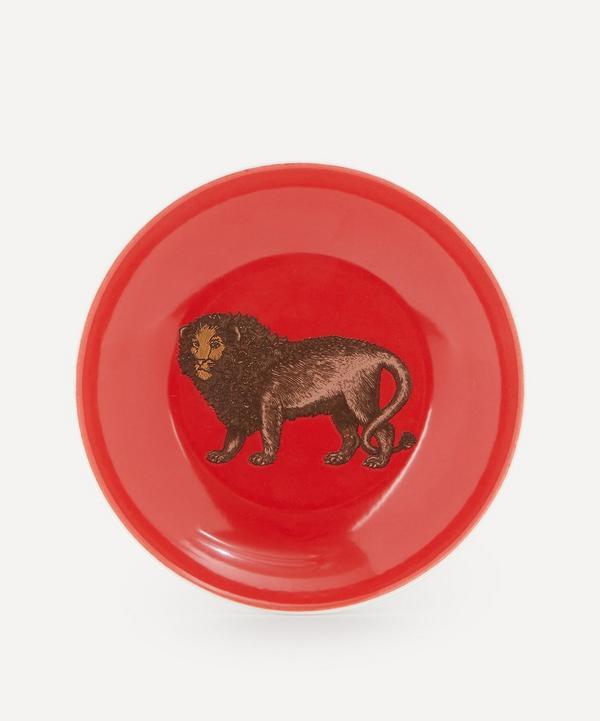 Lion Porcelain Plate