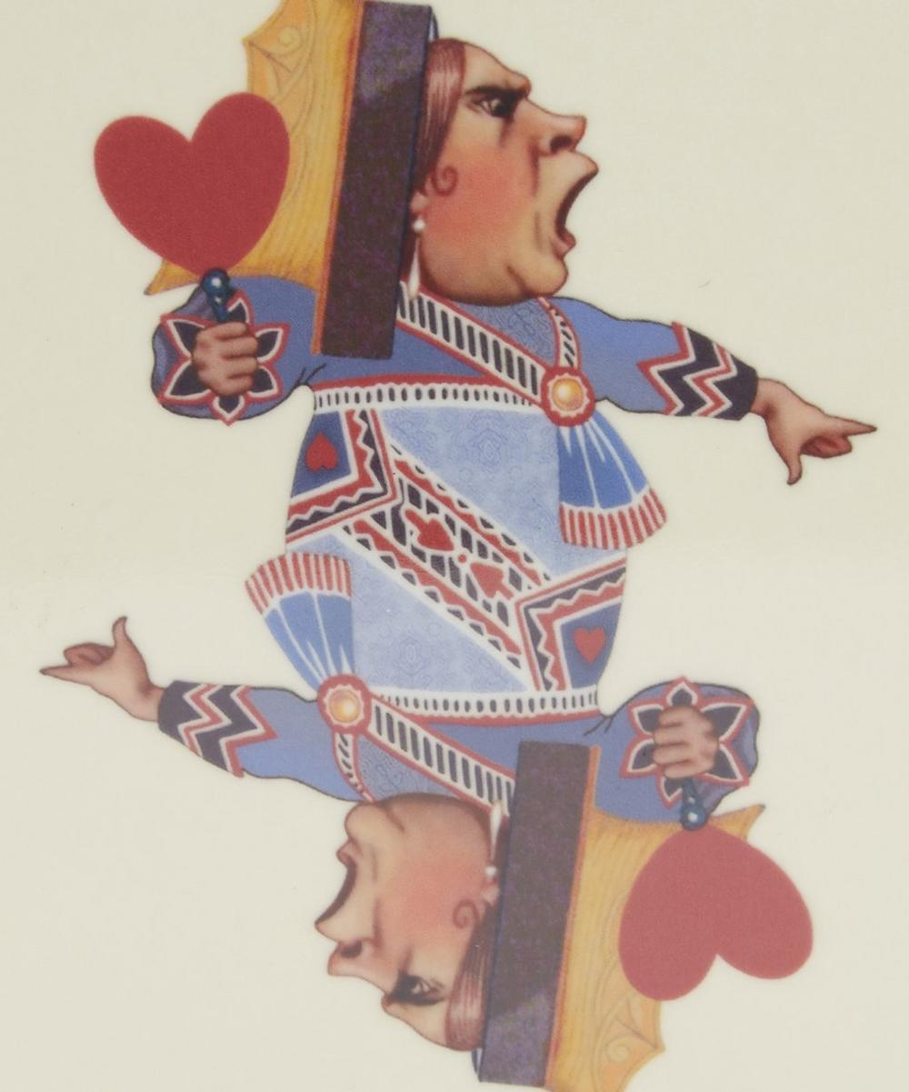 Queen Print Melamine Coaster