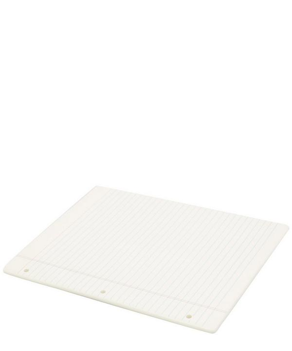 Memo Notebook Ceramic Tray