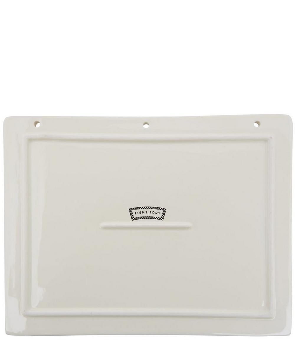 Memo Notebook Ceramic Tray