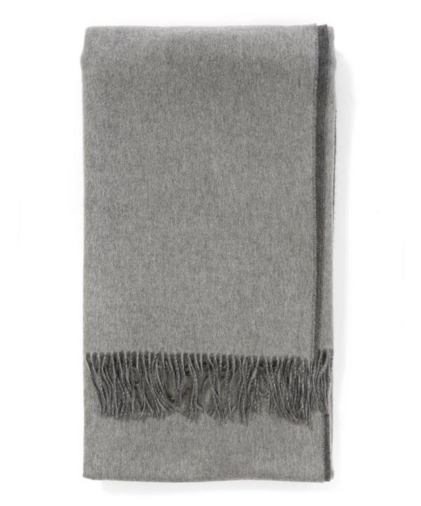 Cashmere Reversible Throw