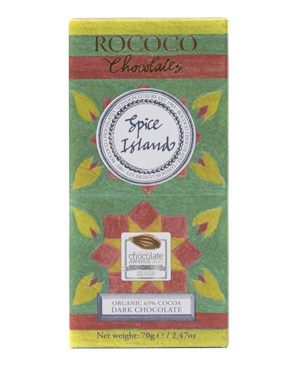 Organic Spice Island Dark Chocolate 70g