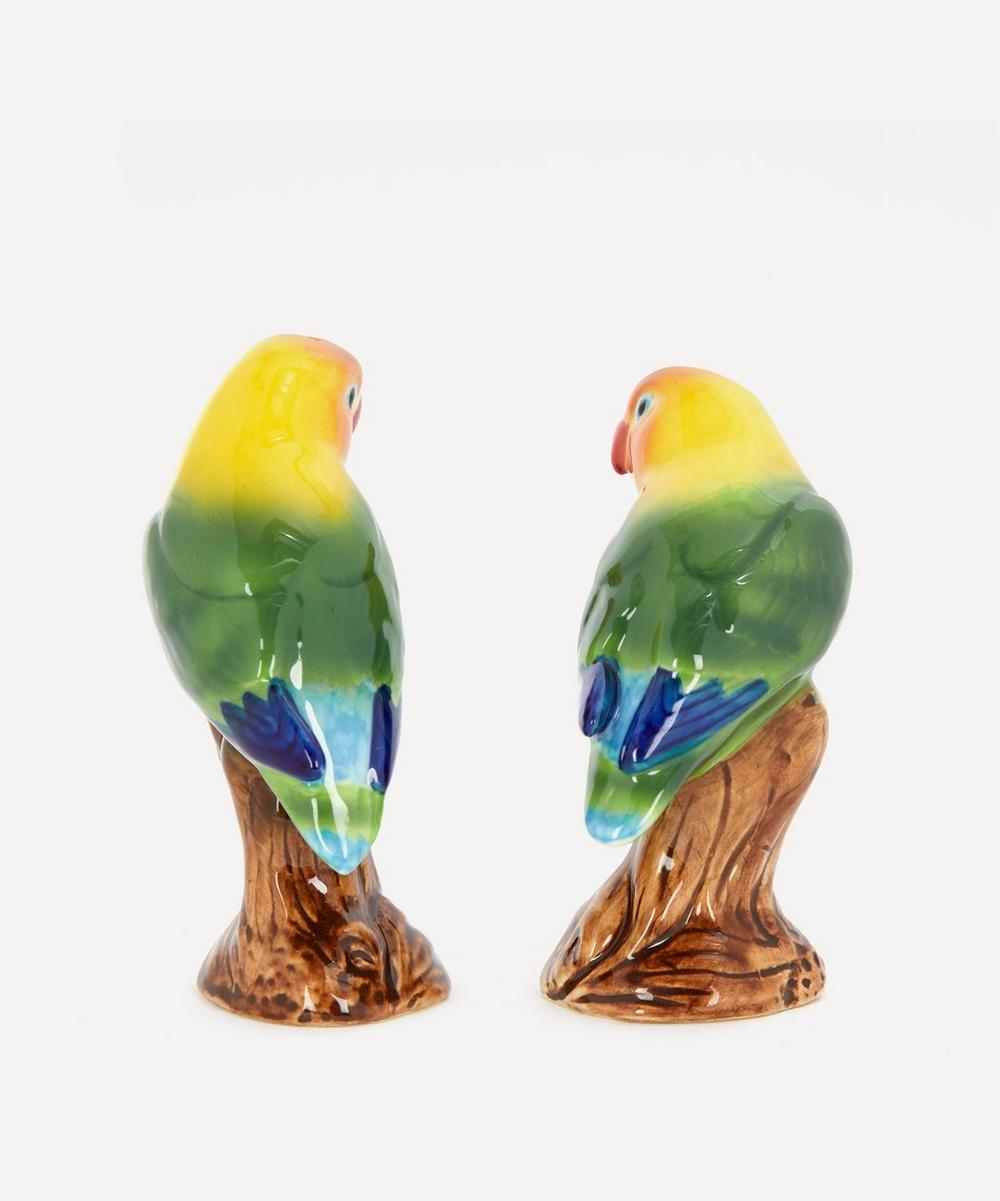 Love Birds Stoneware Salt and Pepper Shakers