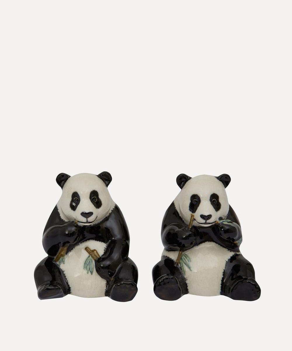 Panda Stoneware Salt and Pepper Shakers