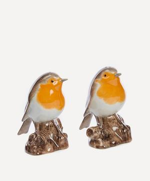 Robin Salt and Pepper Shakers