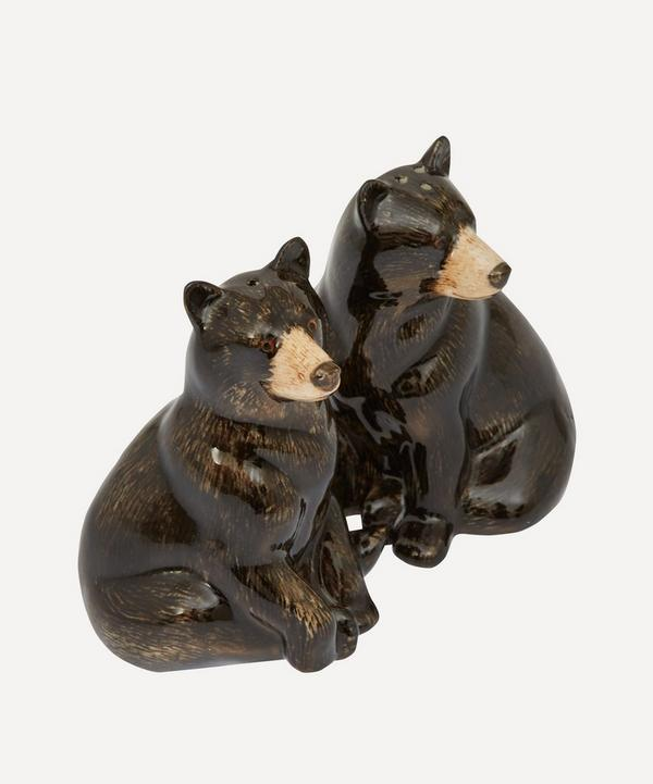 Bear Stoneware Salt and Pepper Shakers