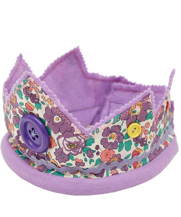 Betsy Print Cotton Crown