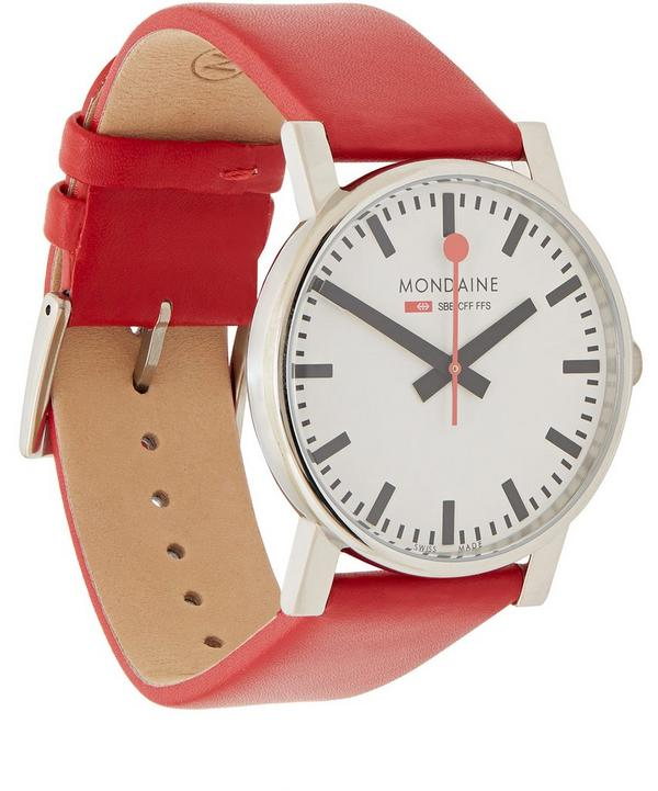 Evo Leather Watch