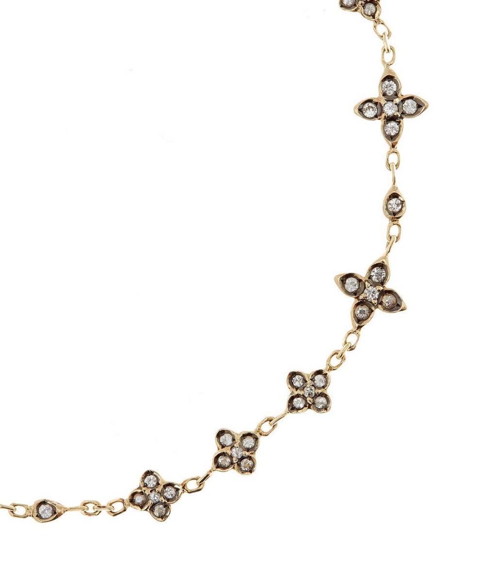 Gold Sapphire Frost Bracelet