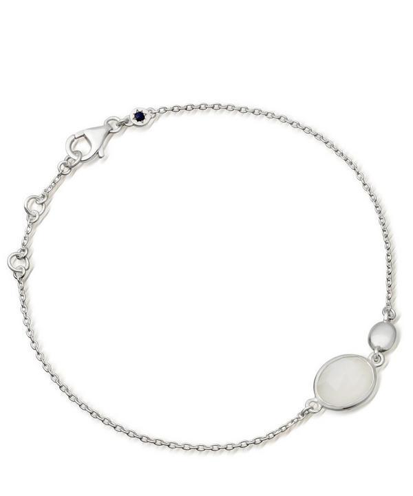 Silver Moonstone Stilla Bracelet