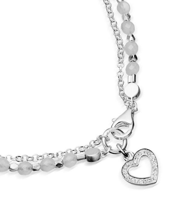 Heart Biography Bracelet