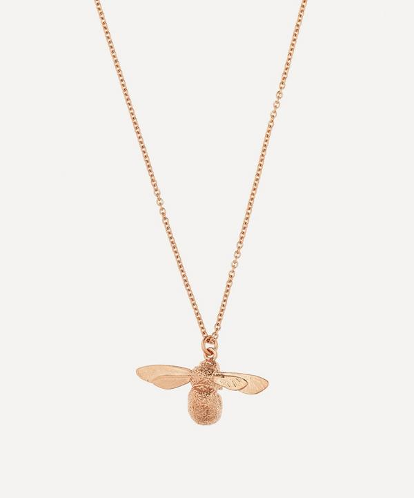 Rose Gold Baby Bee Necklace