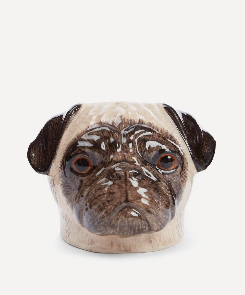 Pug Face Stoneware Egg Cup