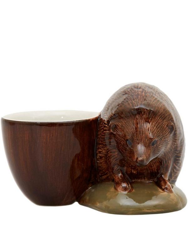 Hedgehog Stoneware Egg Cup