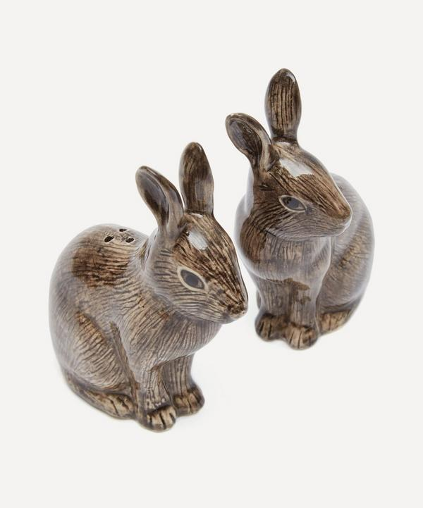White Rabbit Salt and Pepper Shakers