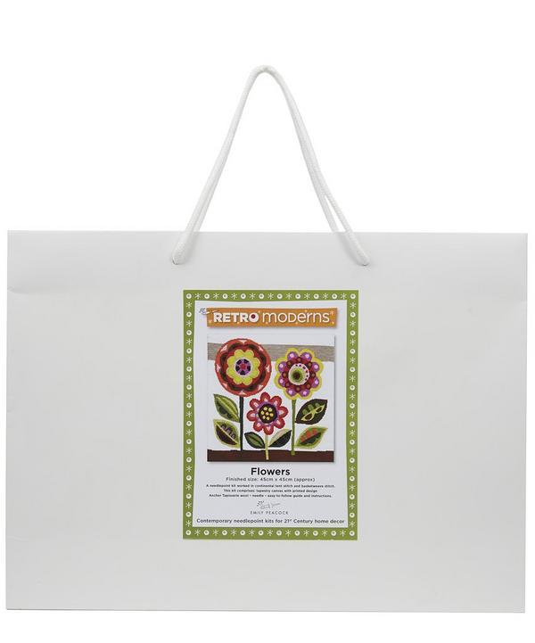 Retro Moderns Flowers Needlepoint Kit