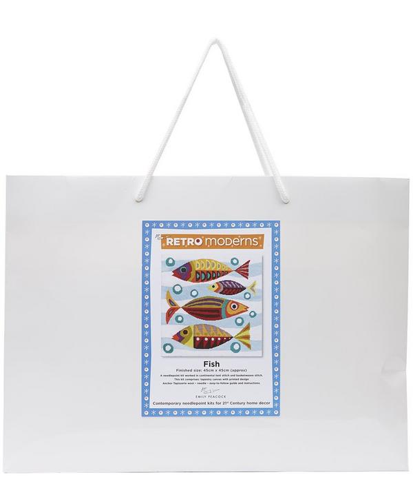 Retro Moderns Fish Needlepoint Kit