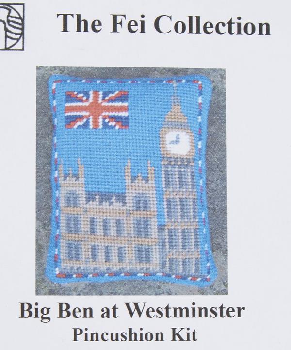 Big Ben at Westminster Pincushion Kit