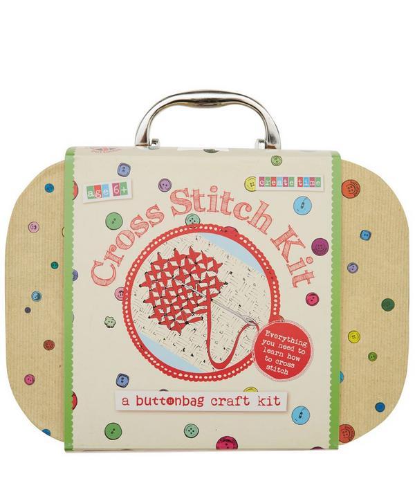 Cross Stitch Suitcase