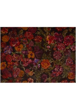 Jeffery Rose Tree Velvet in Ruby