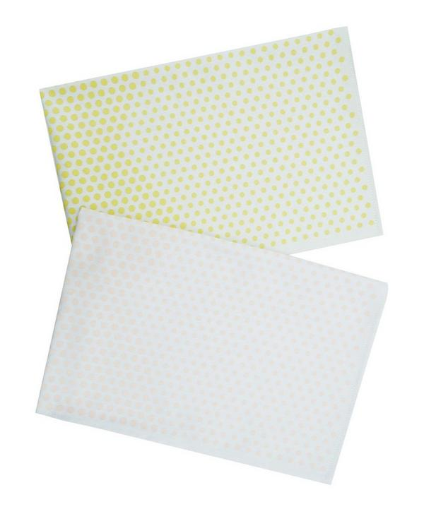 Landscape Dot Tea Towel Set