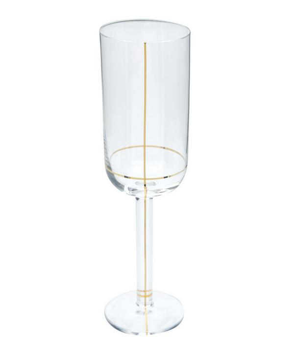 Crystal Champagne Glass