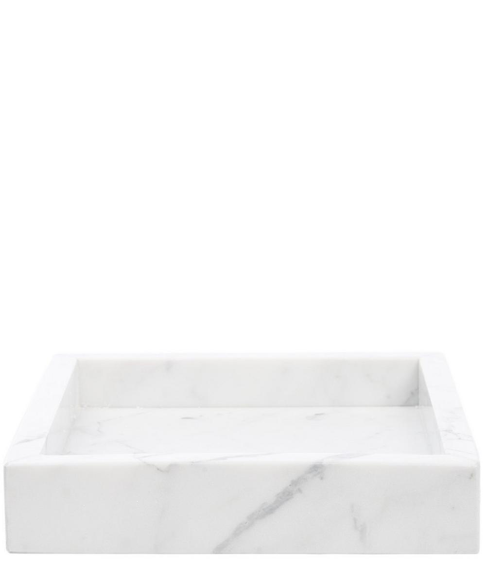 Small Carrara Marble Tray