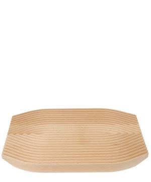Curved Field Beech Bread Board