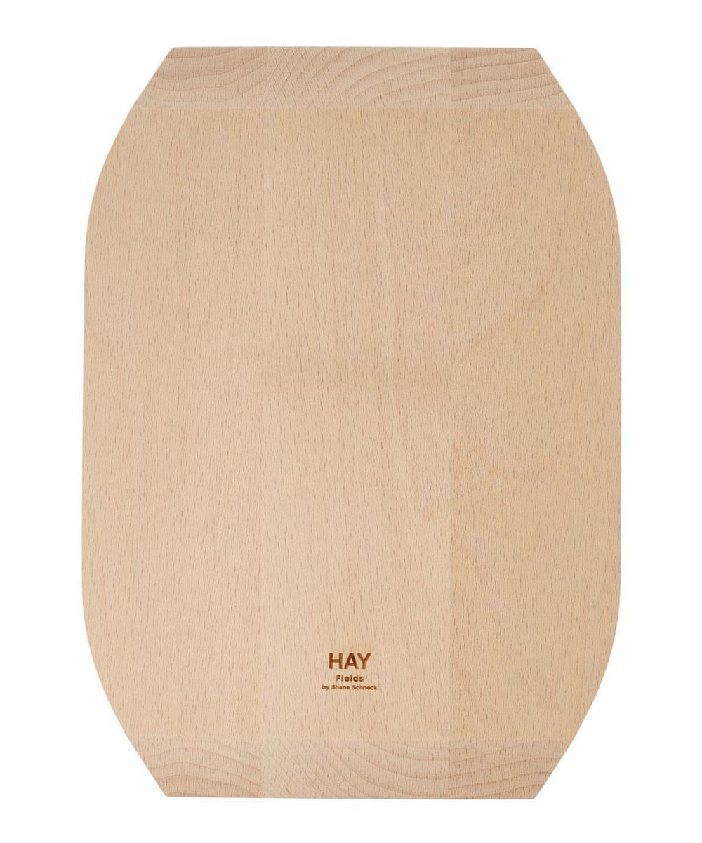 Curved Field Beech Bread Board