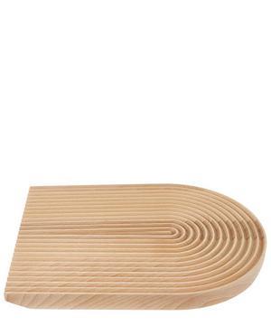 Rounded Field Beech Bread Board