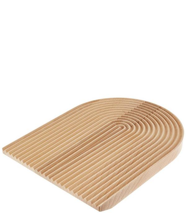 Rounded Field Beech Bread Board