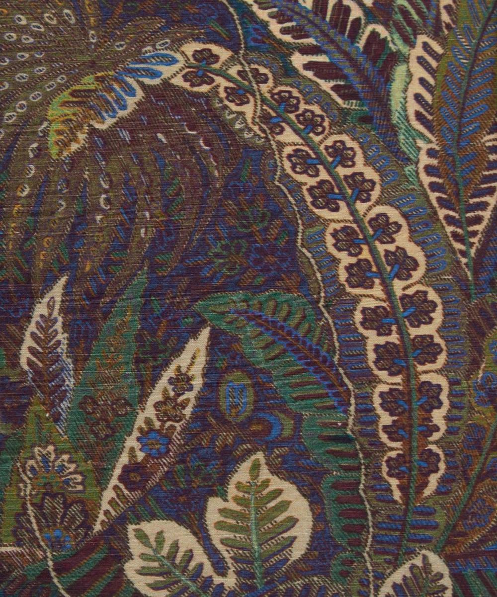 Shand Voyage Silk Linen in Missel Moor
