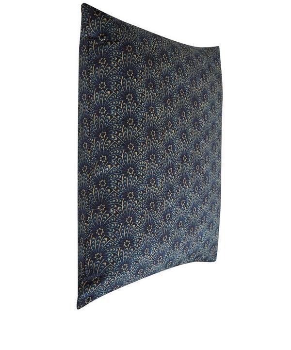 Capello Shell Vintage Velvet Cushion In Stream