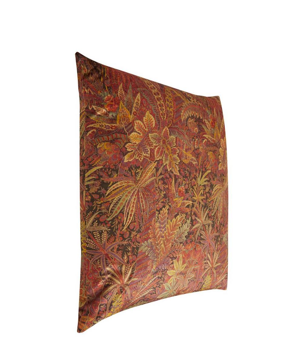 Shand Voyage Vintage Velvet Cushion In Springtime