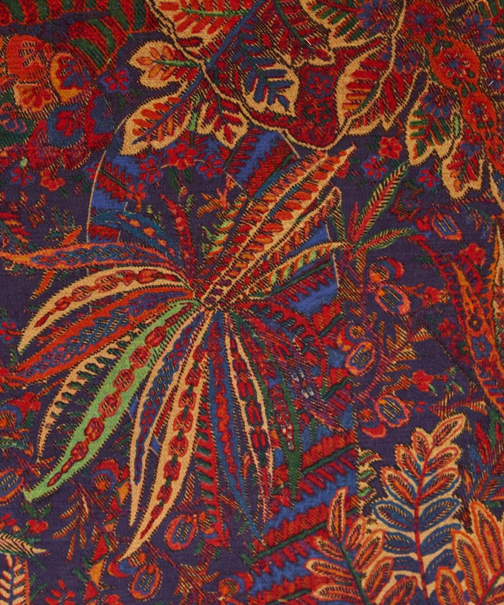 Shand Voyage Vintage Velvet Cushion In Autumn