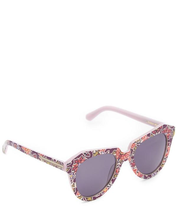 Liberty Print One Worship Sunglasses