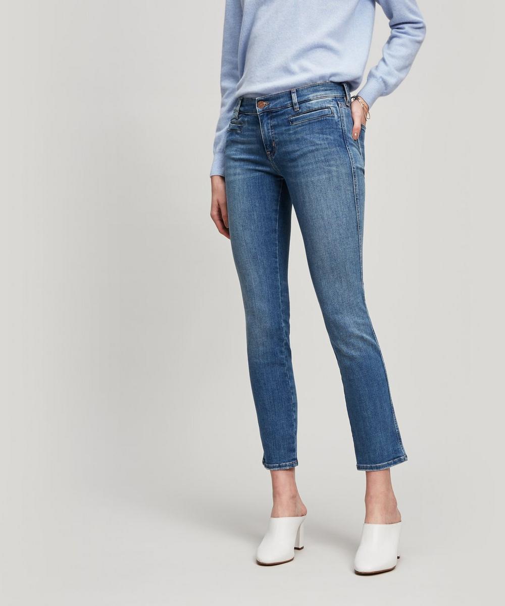 Paris Mid-Rise Crop Jeans