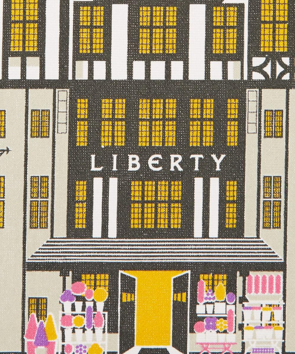 Liberty Building Cotton Tea Towel